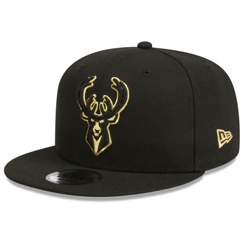 950 Flatpeak Gold Metallic Snapback - Headwear-Snapback   All Out Co ... 3e665443c96